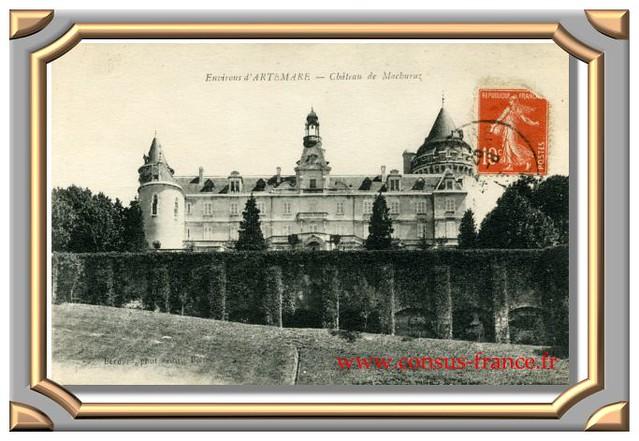 Environs d'ARTEMARE - Château de Machuraz.