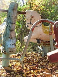 Abandoned Horse Merry-Go-Round