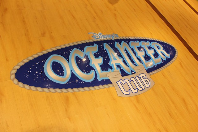 Oceaneer Club & Lab on the Disney Magic