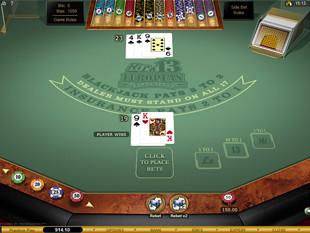 High Lo 13 European Blackjack Gold