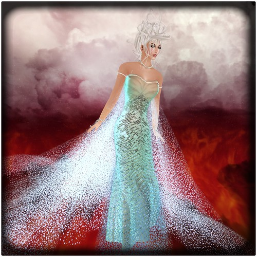 ashmoot_AW coll_frozen_dress by Orelana resident