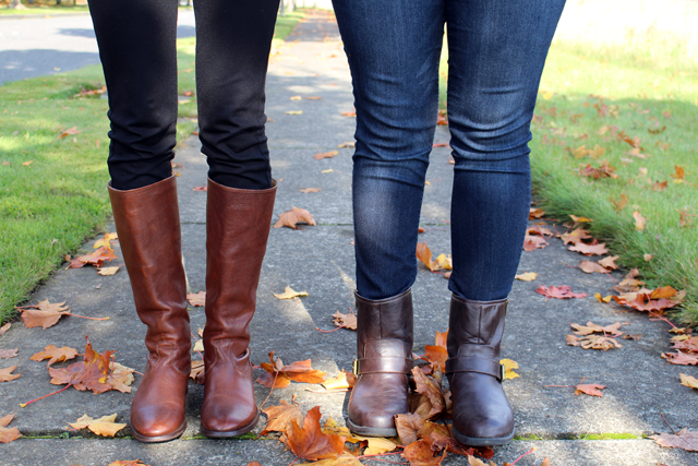frye boots, nordstrom boots, TJ Maxx boots, black jeggings, skinny jeans