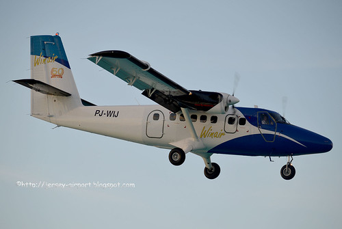 PJ-WIJ DHC-6 Twin Otter by Jersey Airport Photography