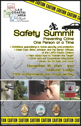LAPD 'Safety Summit' 11-16-13