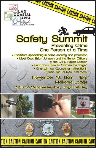 LAPD 'Safety Summit' 11-16-13