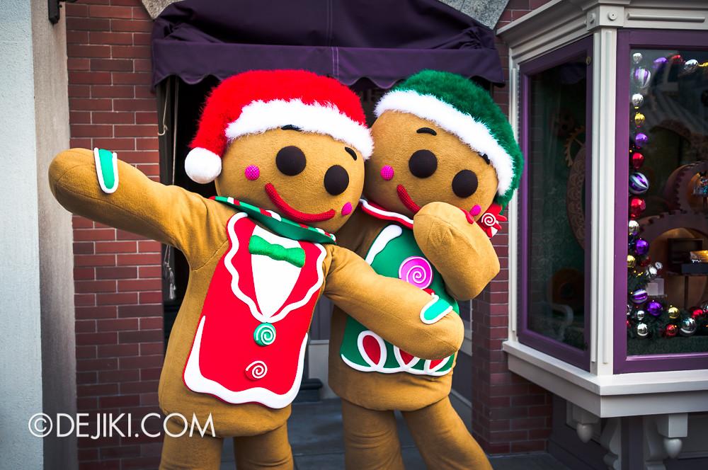 HKDL - Main Street USA Christmas Town - Gingerbread