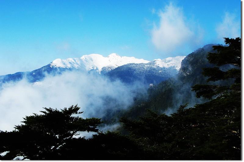 雪山(From 池有山腰) 5