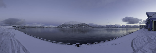 Sortland Blue Hour Panorama
