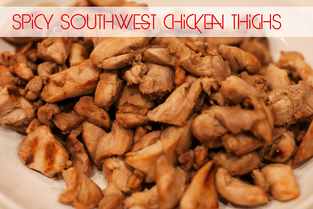cute & little blog | spicy southwest chicken thighs recipe | emeals