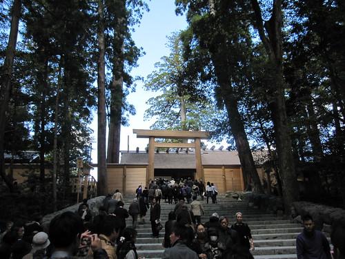 伊勢神宮内宮の正宮 2013.11.12 by Poran111
