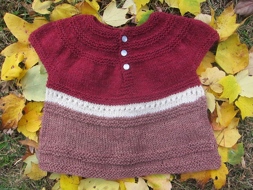 In threes modified pullover