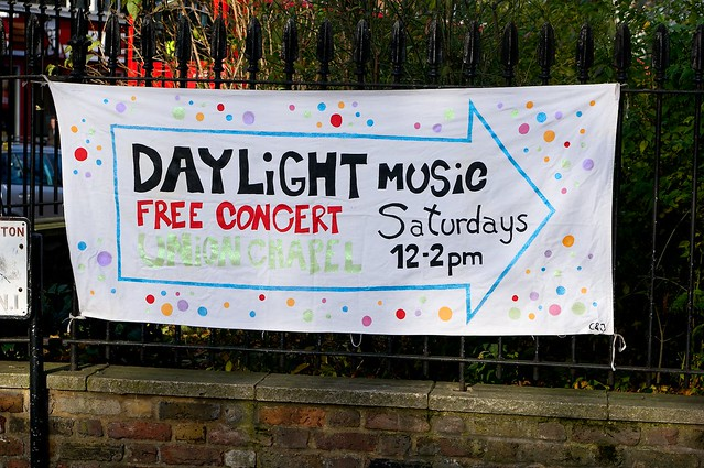 Daylight Music at the Union Chapel - November 30th