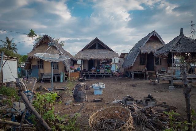 Village Life, Gili Trawangan