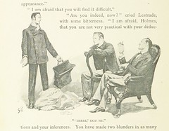 """British Library digitised image from page 260 of """"The Adventures of Sherlock Holmes"""""""