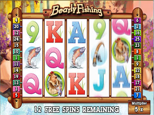 Bearly Fishing Bonus Game