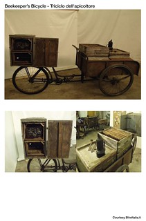 Cargo Bike History: The Beekeeper's Bicycle