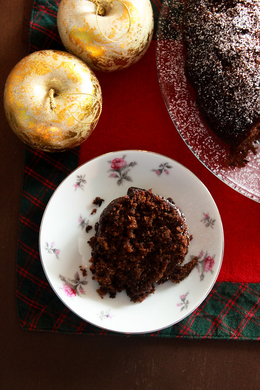 SPICED FRESH GINGER CAKE