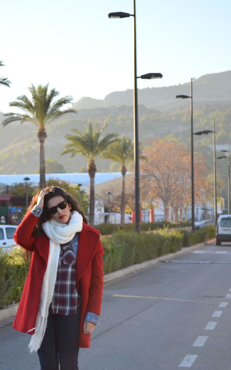 how to wear tartan florencia blog