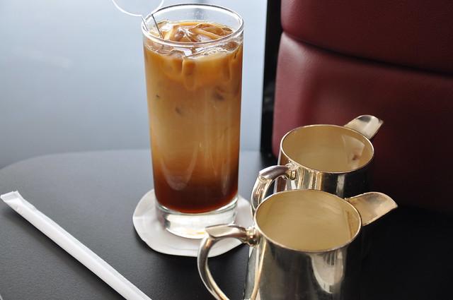 Iced Coffee CX F Wing Lounge HKG