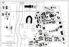 1962 Campus Map The Ohio State University Archives Flickr