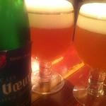 ベルギービール大好き!! ボンヴー Bons Veux @ビスカフェ