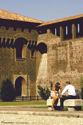 Castello Sforzesco - Cortile