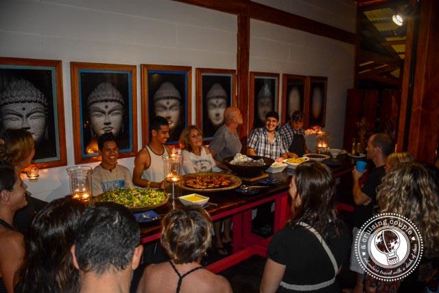 Blue Osa Dinner