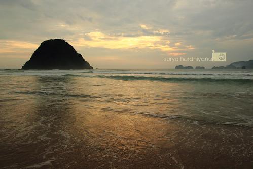 Senja di Pulau Merah, Banyuwangi