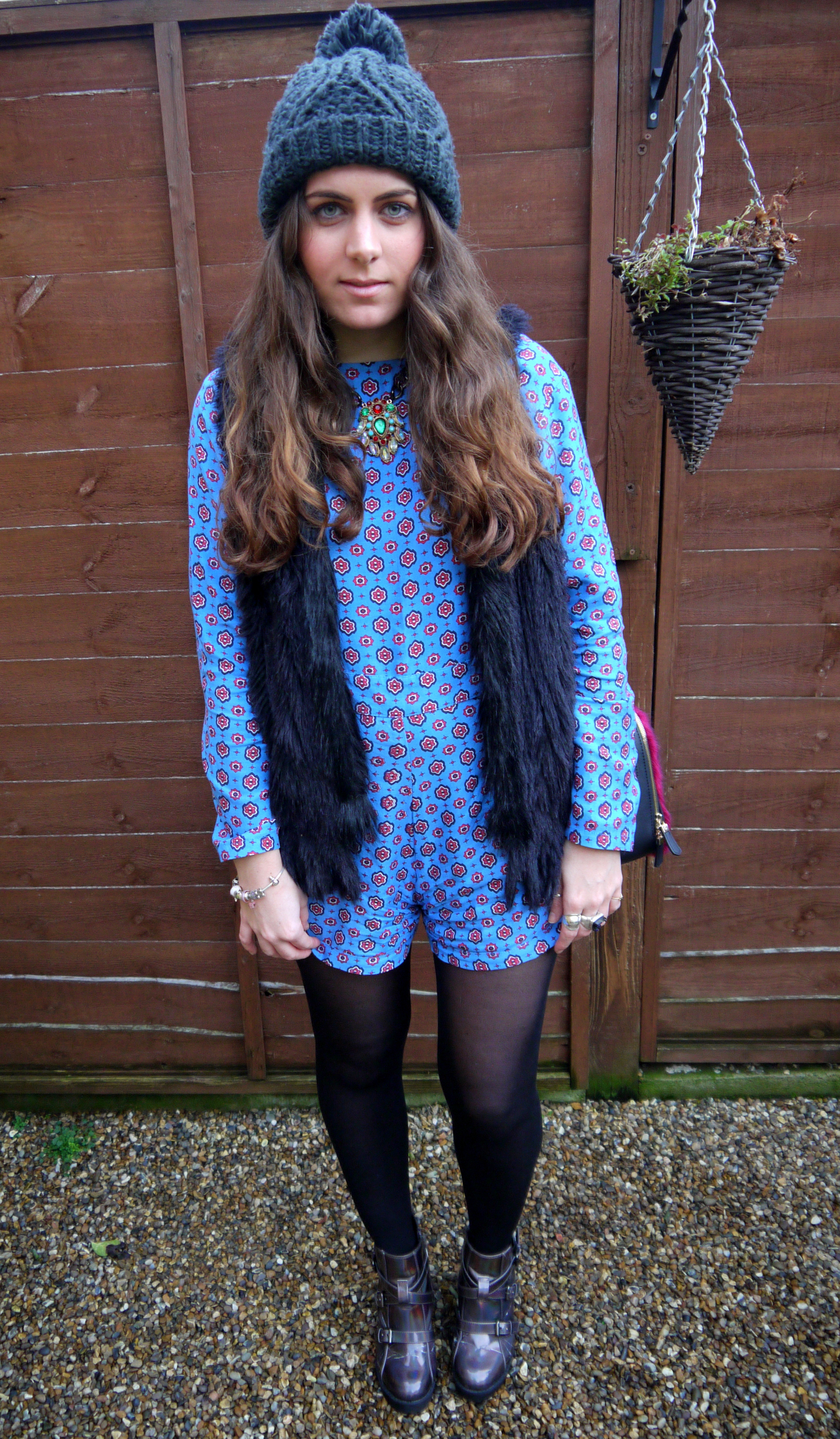 [blog] Kirsty Wears - Motel Playsuit