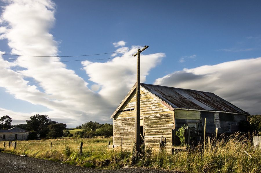 Building at Waipahi