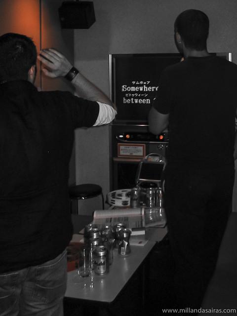 Karaoke en shibuya