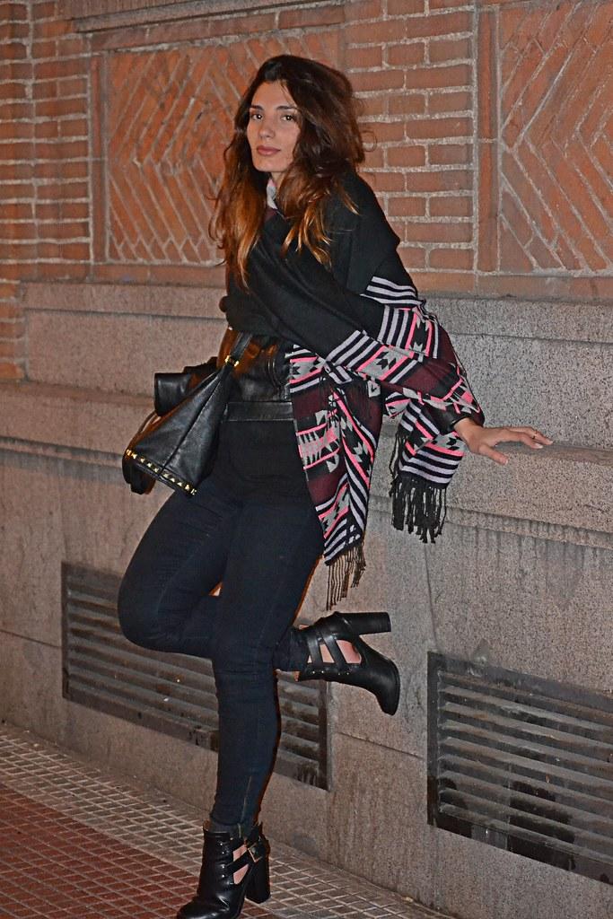 foulard H&M bolso sfera
