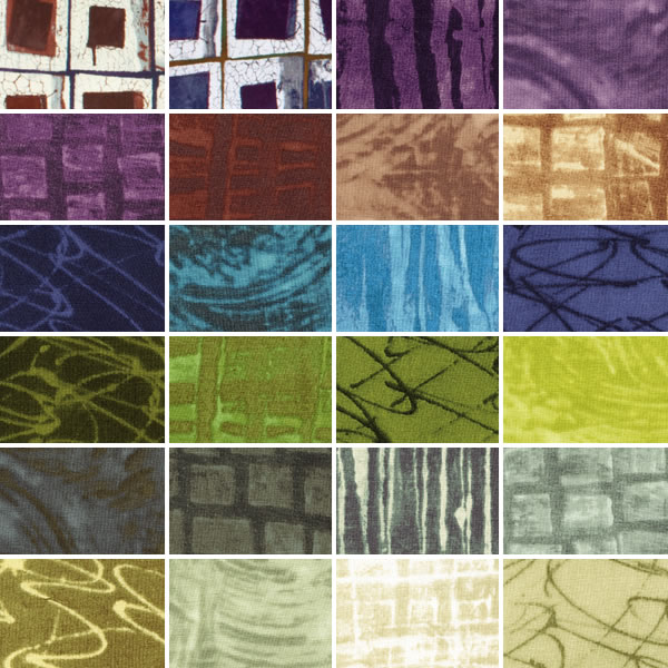 Mosaic Fabric Collection by Marcia Derse for Wilmington Prints
