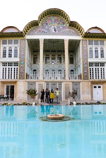 Qavam House in Eram garden, Shiraz シラーズ、エラム庭園の宮殿