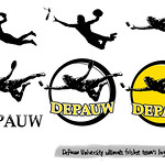 Depauw Frisbee Team Logo Development