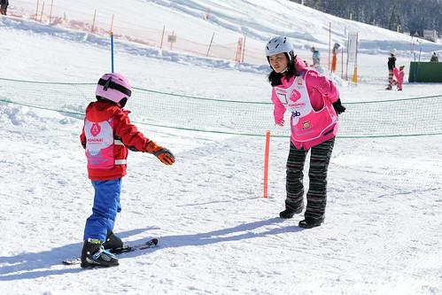 兒童滑雪課程