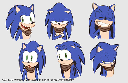 Sonic Boom Game Concept Art