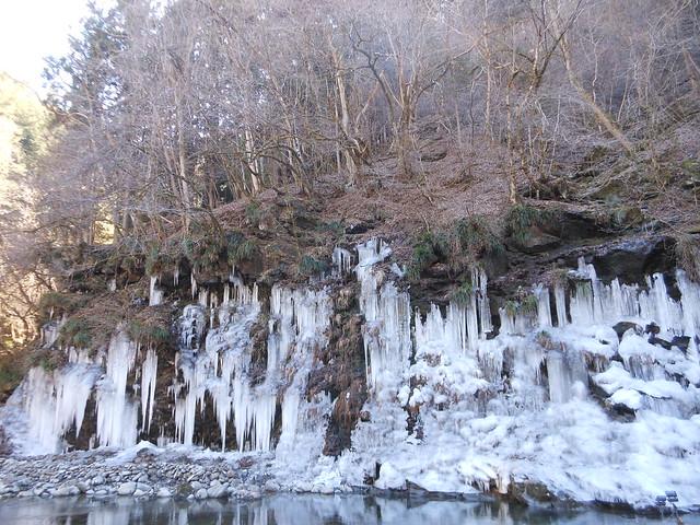 天然氷柱(近景)