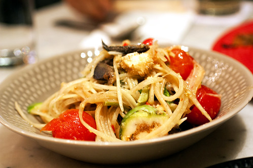 papaya salad w/ crab @ somtum der