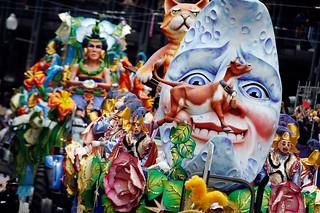 Carnaval de Nueva Orleans.