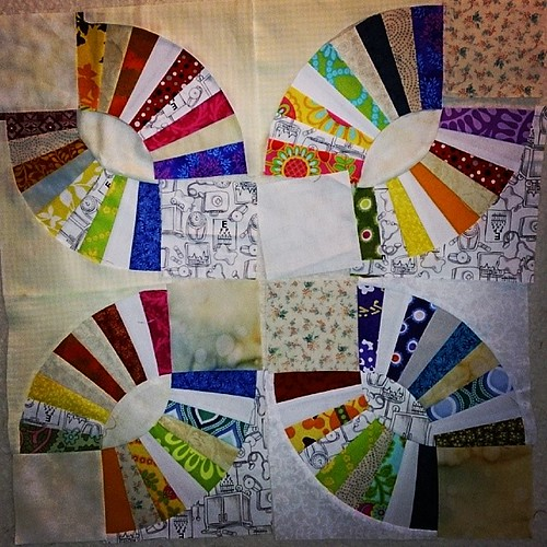 Such bright! So colours! #SydMQG #quilt #blocks
