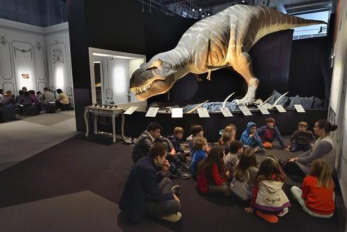 """Exposition """"T.rex, secrets de famille d'un dinosaure"""""""