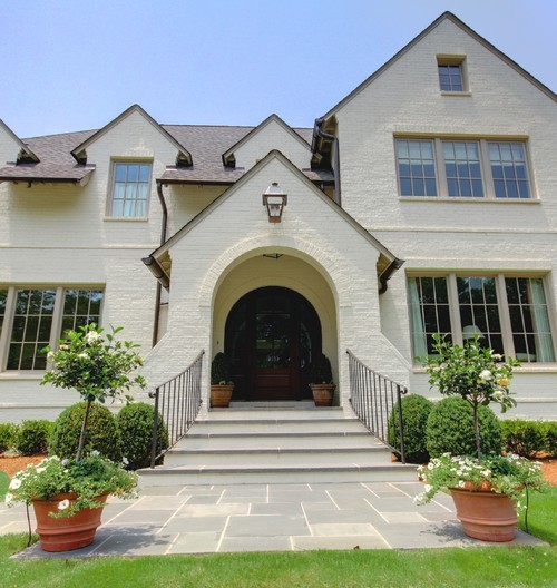 Another House I Recently Saw On Houzz, Designed By Atlanta Architect  Rodolfo Castro, Received Many Comments And Questions About The Paint And  Trim Color.