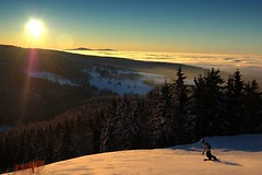 Ski centrum Říčky v Orlických horách - rozmanité a zábavné sjezdovky pro všechny