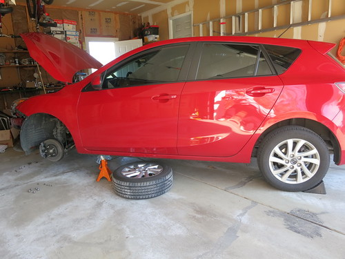 mazda 3 fog light installation instructions