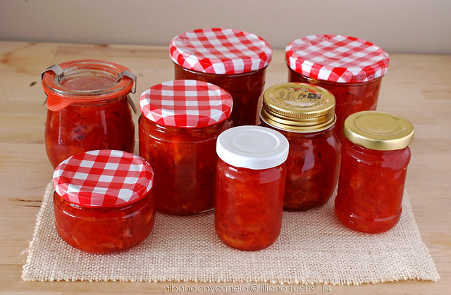 Blood orange kumquat jam