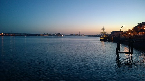 Into the West - Cobh and the Gorch Fock. by despod