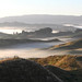 Pano of misty valleys. by Chris Firth of Wakey.