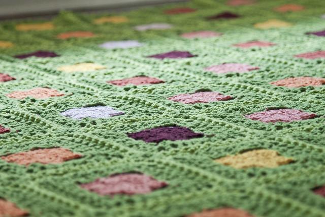Spring is Spring Granny Square Blanket