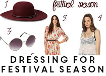 how to dress for festival season